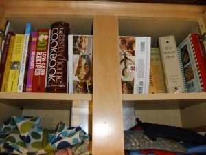 I have my fair share of cookbooks and regularly add new ones to my Amazon wish list.